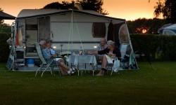 Ruime camping plaatsen