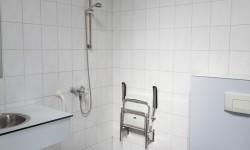 Douche en toilet voor minder validen