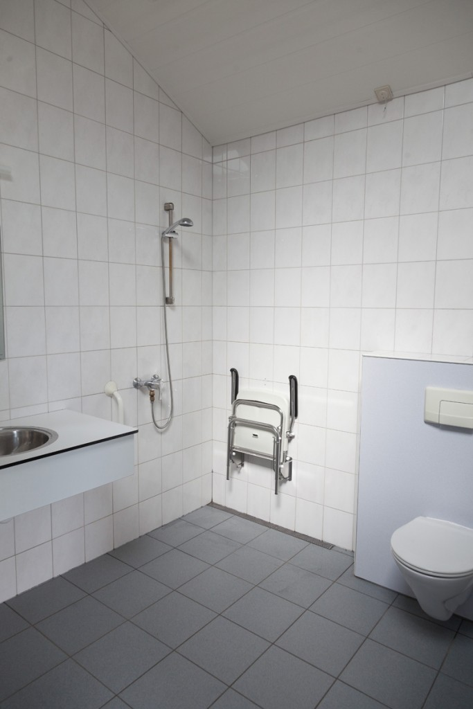 Stortbak Chemisch Toilet.Accomodatie Camping T Haller